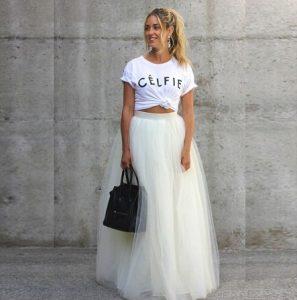 Tulle Ball Skirt