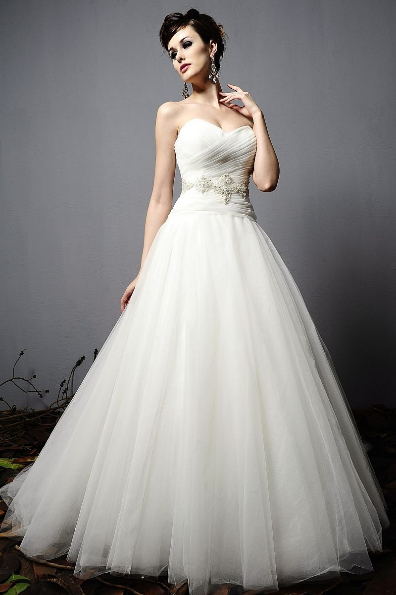 Tulle gown dressed up girl for How to make a tulle wedding dress