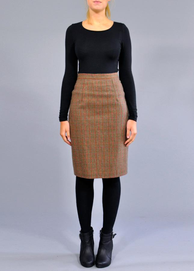 Retro Clothing For Women Pencil Skirt