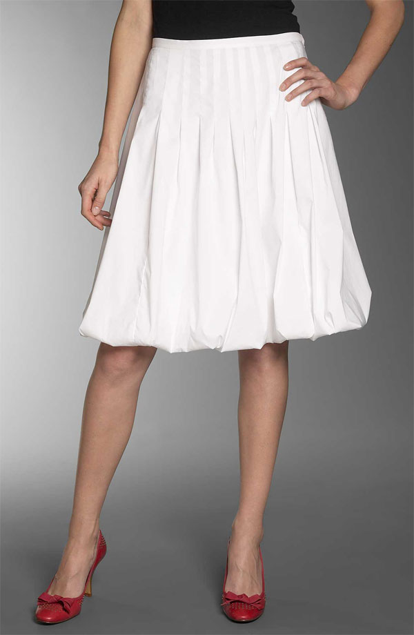 Bubble Skirt Dressed Up Girl