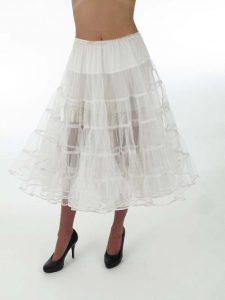 White Crinoline Skirt