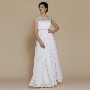 White Debutante Gowns