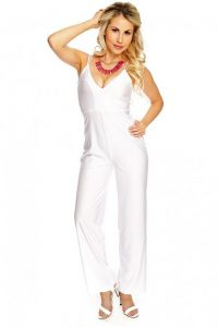 White Dressy Jumpsuits