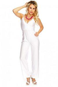 White Dressy Jumpsuits
