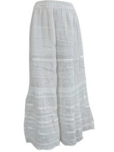 White Hippie Skirt