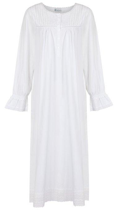 White Cotton nightgown, womens, plus size, Girls, cotton gowns, Nightgowns, Night Gown, Long Gown, Robes, Pajamas, Sleepwear, Lawn Gown, Cotton White Gown.