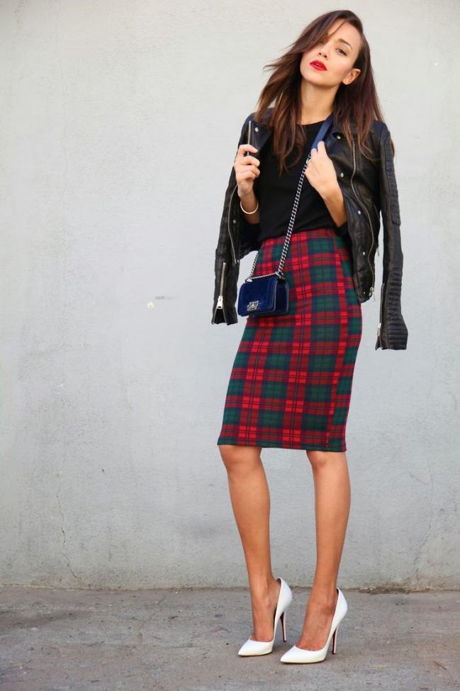 winter skirts dressed up