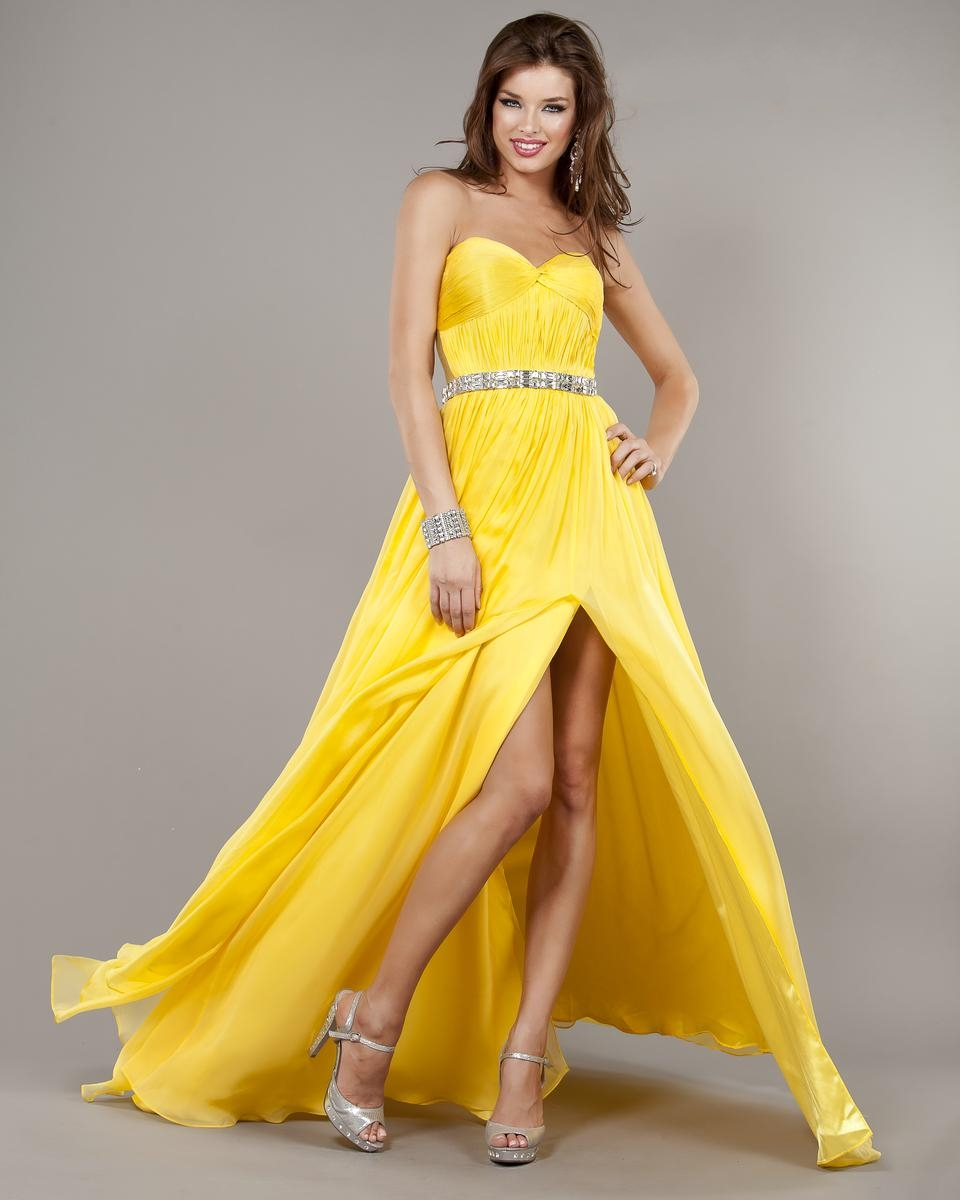 Evening Gowns Yellow_Other dresses_dressesss