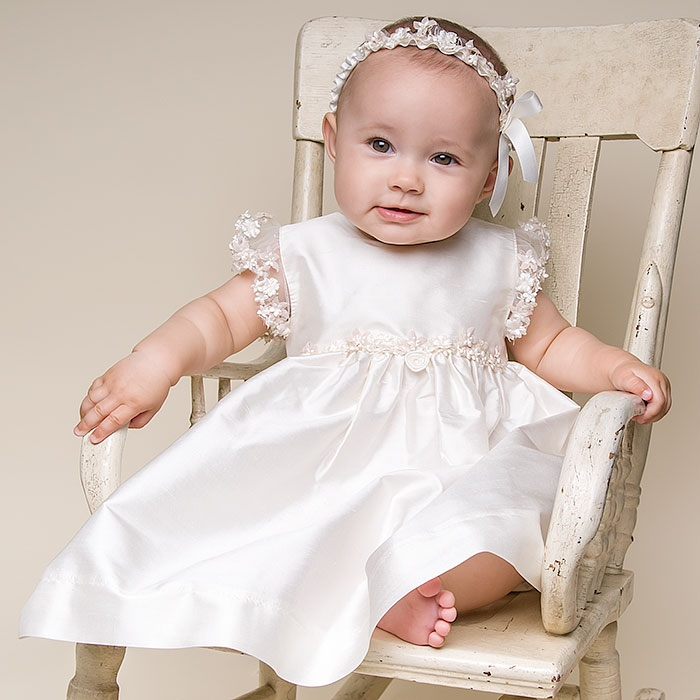 Christening Gowns for Girls to Start Their Journey. Have your little one looking as adorable as can be on their very special day with some help from our extensive collection of christening gowns!