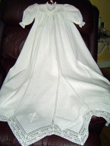 Baptism Gown Pattern