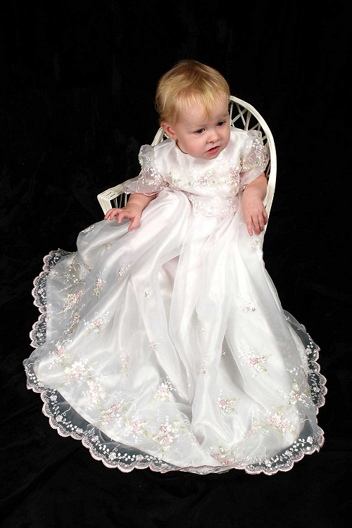 Baptism Gowns Dressed Up Girl