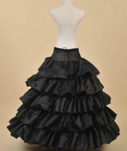 Black Hoop Skirt