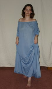 Blue Night Gown
