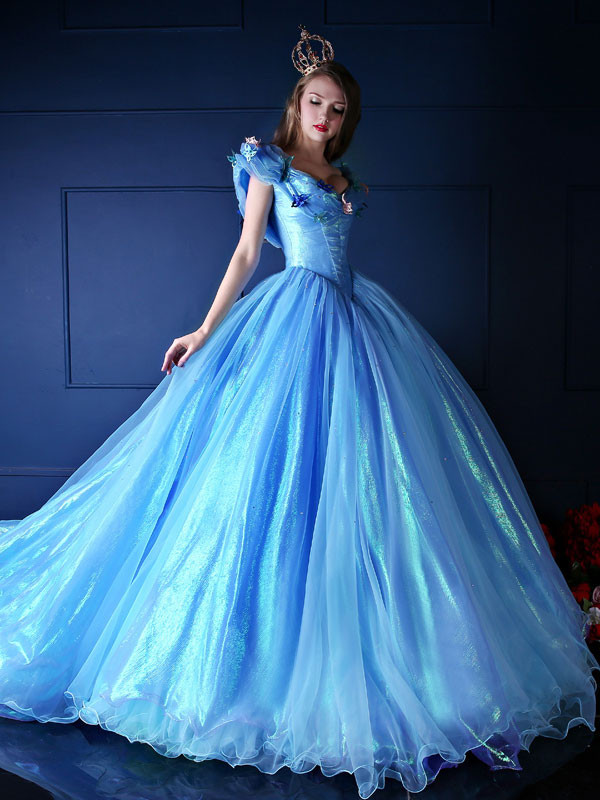 cinderella gowns dressed up girl