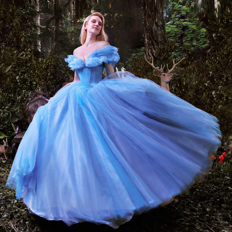 Cinderella Gowns | Dressed Up Girl