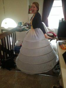 DIY Hoop Skirt