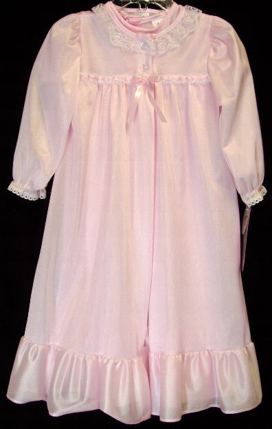 Night Gown Dressed Up Girl
