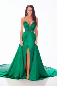 Green Pageant Gowns