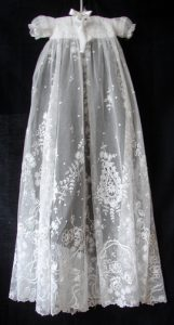 Lace Baptism Gown