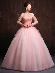 Long Sleeve Ball Gowns