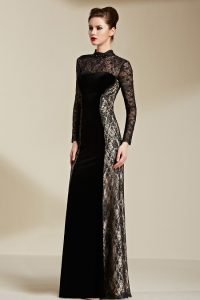 Long Sleeve Formal Gown