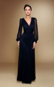 Long Sleeve Formal Gowns
