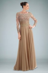 Long Sleeved Evening Gowns