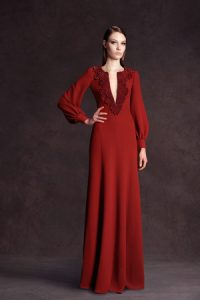 Long Sleeved Gowns