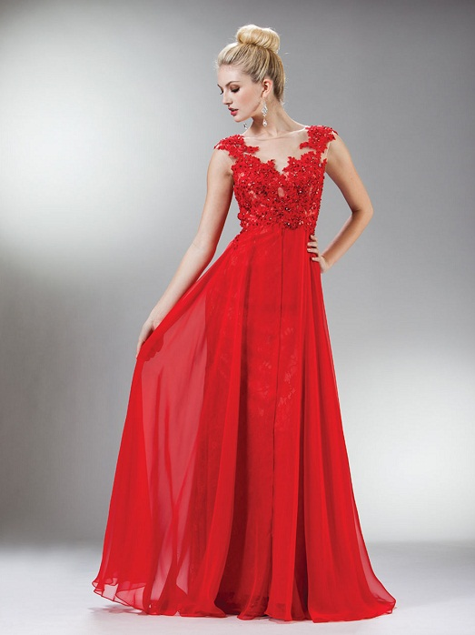 Red Gown | Dressed Up Girl