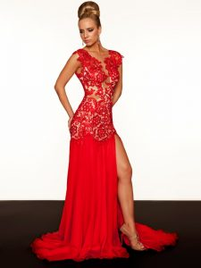 Red Pageant Gown