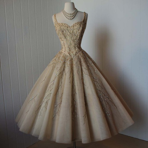 Vintage Gowns   Dressed Up Girl