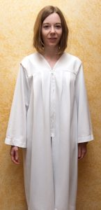 White Graduation Gowns