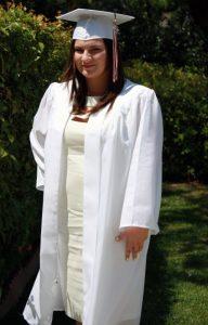 White Graduation Gowns