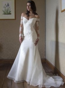 White Long Gown