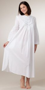 White Night Gown