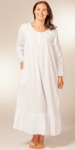 White Night Gowns