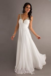 White Prom Gowns