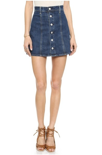 Blue Jean Skirts For Women