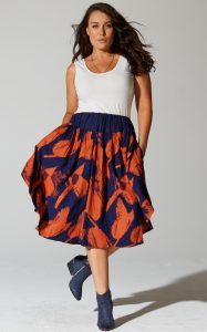 Plus Size Full Skirt