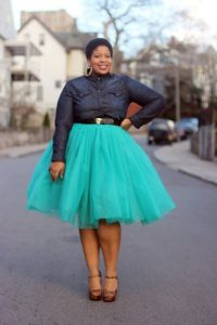 Plus Size Tutu Skirt