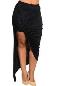 Plus Size Wrap Skirt