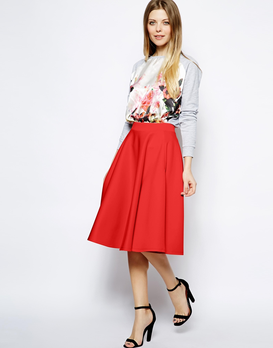Red Skirt | Dressed Up Girl