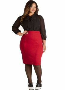 Skirt Plus Size