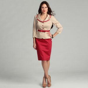 Womens Red Skirt