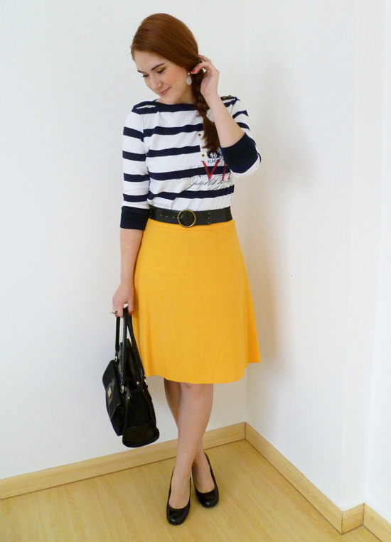Yellow Skirt | Dressed Up Girl