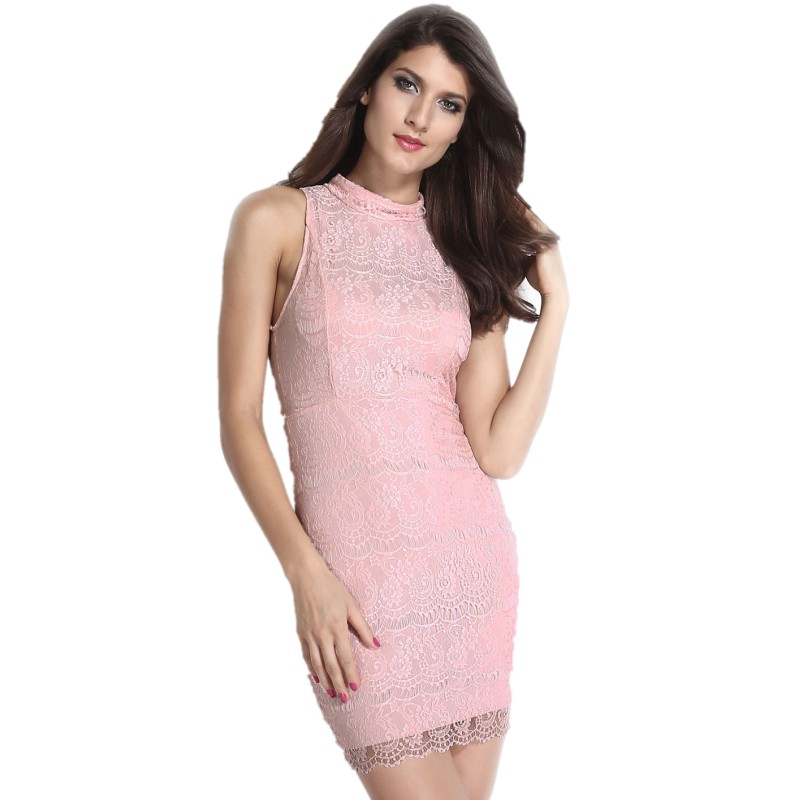 Pink Sundress Dressed Up Girl