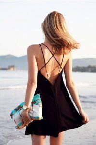 Backless Sundress Images