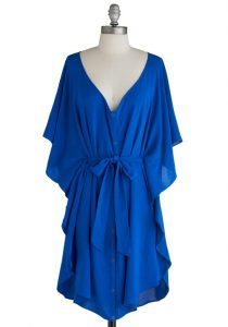 Blue Sundress Outfit