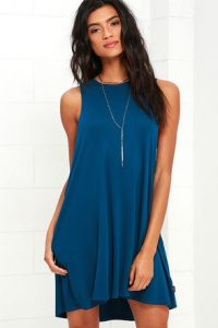 Blue Sundress for Juniors