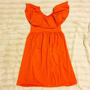 Burnt Orange Sundress